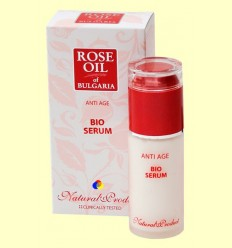 Bio Serum Anti Age Rose Oil of Bulgària - Biofresh Cosmetics - 45 ml + *