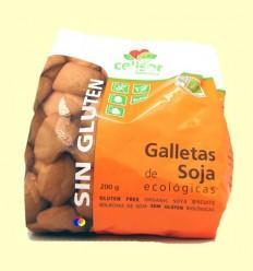 Galetes de Soja Ecològiques Sense Gluten Celisor - Soria Natural - 200 grams