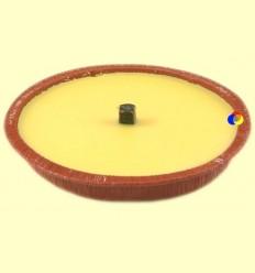 Vela de citronella per espantar i repel·lir els mosquits - pot color teula - Aromalia - 15 cm