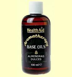 Oli base d'ametlles Dolços - Sweet Almond - Health Aid - 100 ml