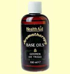 Oli base de Germen de blat - Wheat germ - Health Aid - 100 ml