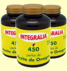 Oli d'Onagra 500 mg - Integralia - 450 Perles - Oferta 3x2