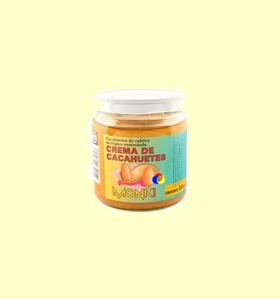 Crema de cacauets Monki Bio - BioSpirit - 330 grams