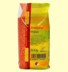Llenties vermelles Bio - BioSpirit - 500 grams