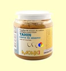 Tahin Monki Bio amb Sal Marina - BioSpirit - 330 grams