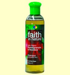 Xampú Granada i Rooibos - Faith in Nature - 250 ml