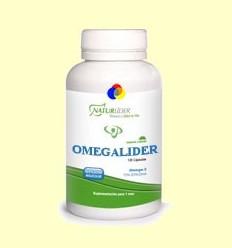 Omegalider 3 - Naturlider - 120 perles