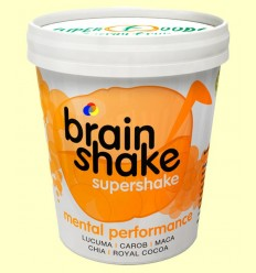 Brain Shake ECO - Lúcuma, Maca, Mesquite, Garrofa, Cacau - Energy Feelings - 250 grams