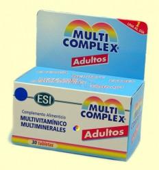 Multicomplex Adults - Multivitamínic i multiminerals - ESI Laboratoris - 30 tabletes