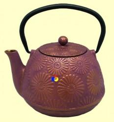 Tetsubin - Tetera de ferro colat lila - Signes Grimalt - 1,2 l