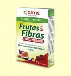 Fruites i Fibres Concentrat - Ortis Laboratoris - 30 comprimits