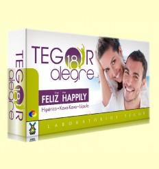Tegor 18 Alegre - Laboratoris Tegor - 40 càpsules
