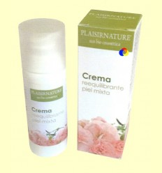 Crema Reequilibrant Pell Mixta - Plaisirnature - 50 ml