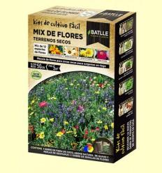 Kits de cultiu fàcil Mix de Flors Terrenys Secs - Batlle