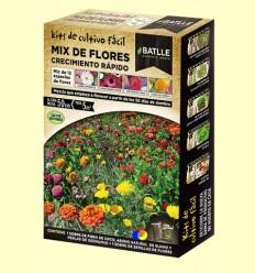 Kits de cultiu fàcil Mix de Flors Creixement Ràpid - Batlle