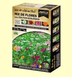 Kits de cultiu fàcil Mix de Flors Cultiu Ecològic - Batlle