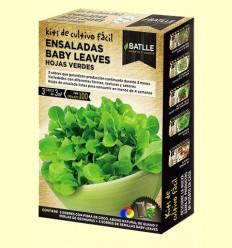 Kits de cultiu fàcil Baby leaves Fulles Verds - Batlle