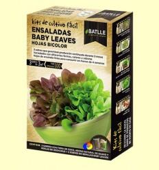 Kits de cultiu fàcil Baby leaves Fulles Bicolor - Batlle