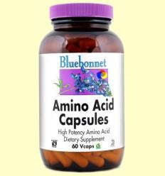 Aminoàcids 750 mg - BLUEBONNET - 60 càpsules vegetals