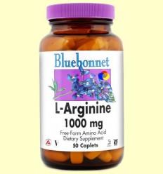 L-Arginina 1000 mg - BLUEBONNET - 50 comprimits