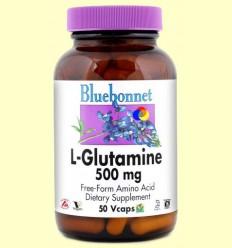 L-Glutamina 500 mg - BLUEBONNET - 50 càpsules vegetals