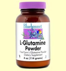 L-Glutamina Powder - BLUEBONNET - 114 grams