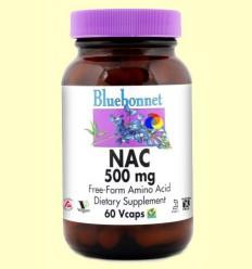 NAC 500 mg - BLUEBONNET - 60 càpsules vegetals