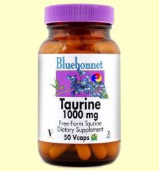 Taurina 1000 mg - BLUEBONNET - 50 càpsules vegetals