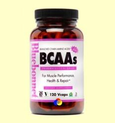 BCAAs - BLUEBONNET - 120 càpsules vegetals