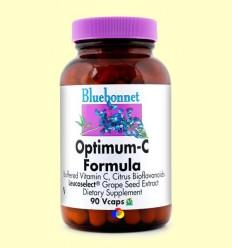 Optimum C Formula - BLUEBONNET - 90 càpsules vegetals