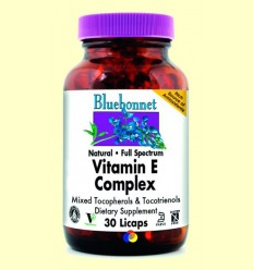 Vitamina E Complex Full Spectrum - BLUEBONNET - 30 licaps