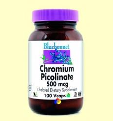 Crom Picolinat 500 mg - BLUEBONNET - 100 càpsules vegetals