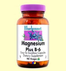 Magnesi amb Vitamina B6 - BLUEBONNET - 90 càpsules vegetals