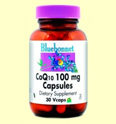 Coenzim Co Q-10 100 mg - BLUEBONNET - 30 càpsules vegetals