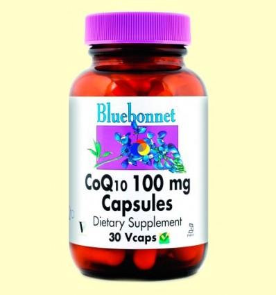 Coenzim Co Q-10 100 mg - BLUEBONNET - 30 càpsules vegetals
