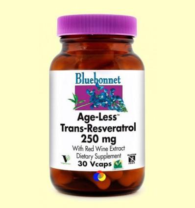 Age-Less Trans Resveratrol 250 mg - BLUEBONNET - 30 càpsules vegetals