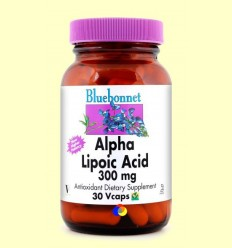Àcid Alfa Lipoic 300 mg - BLUEBONNET - 30 càpsules vegetals
