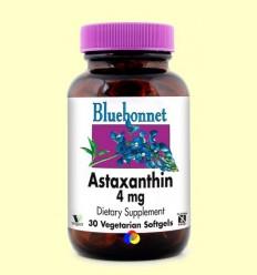 Astaxantina 4 mg - BLUEBONNET - 30 càpsules toves vegetals