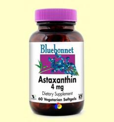 Astaxantina 4 mg - BLUEBONNET - 60 càpsules toves vegetals