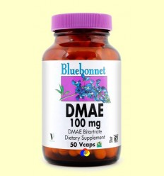 OFERTA-20% - DMAE 100 mg - BLUEBONNET - 50 càpsules vegetals