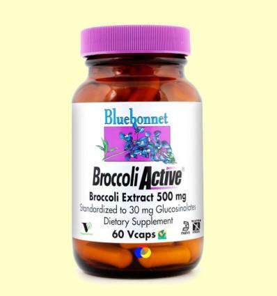 Broccoli Active 500 mg - BLUEBONNET - 60 càpsules vegetals