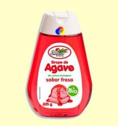 Xarop d'Atzavara Bio - Sabor maduixa - El Granero - 335 grams