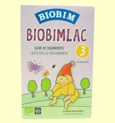 Biobimlac 3 - + 10 mesos - Llet de seguiment ecològica - BIOBIM - 450 grams