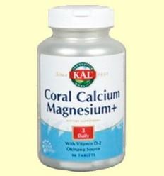 OFERTA-40% - Coral Calcium Magnesium - Laboratoris Kal - 90 comprimits