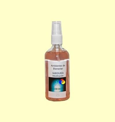 Meditació - Saviesa - Harmonitzador Ambiental Floral Gemoteràpia - Lotus Blanc - 100 ml