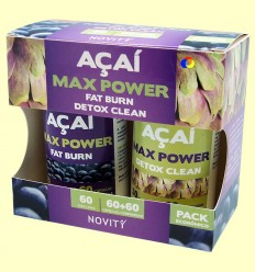 Açaí Max Power - Novity - 60 + 60 càpsules