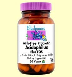 Milk Free Acidophilus Plus Fos - BLUEBONNET - 50 càpsules