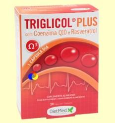 OFERTA-35% - Triglicol Plus - Dietmed - 30 càpsules