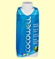 Cocowell - Aigua de Coco - 100% Natural - 1 litre ******