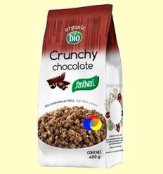 Crunchy Xocolata Bio - Santiveri - 400 grams